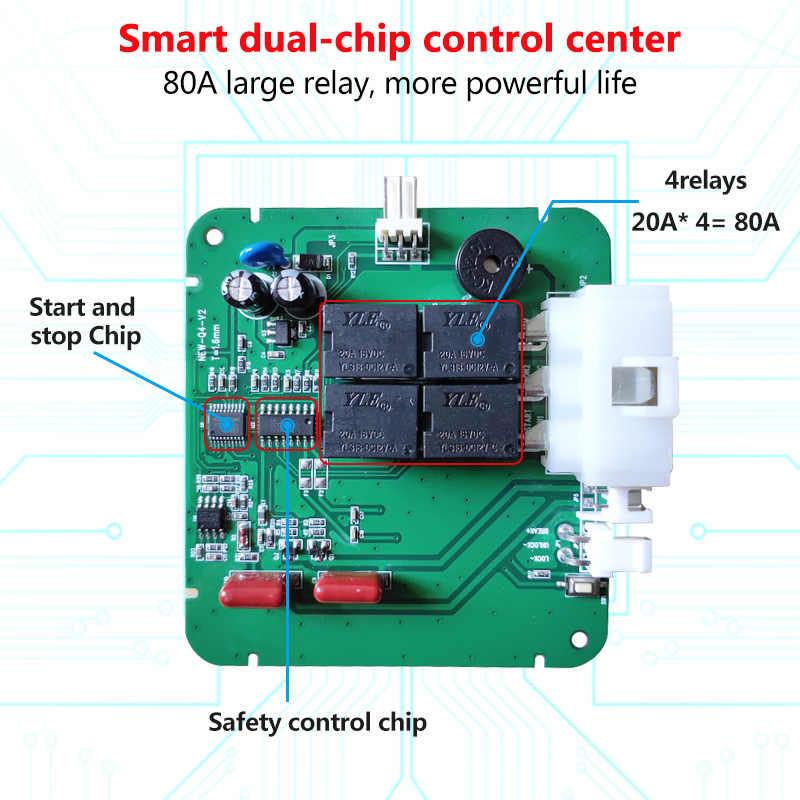 Alarma de coche Starline botón de inicio y parada RFID bloqueo interruptor de encendido sistema de entrada sin llave autostart sistema antirrobo