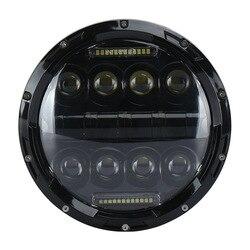 Manufacturers selling 7 inch 75 wjeep headlight circular wrangler lamp cross-border off-road LED car light