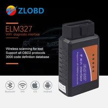 Wifi-Adapter-Scanner Car-Diagnostic-Tool Elm327 V1.5 iPhone OBD2 Obd-Ii for IOS V2.1