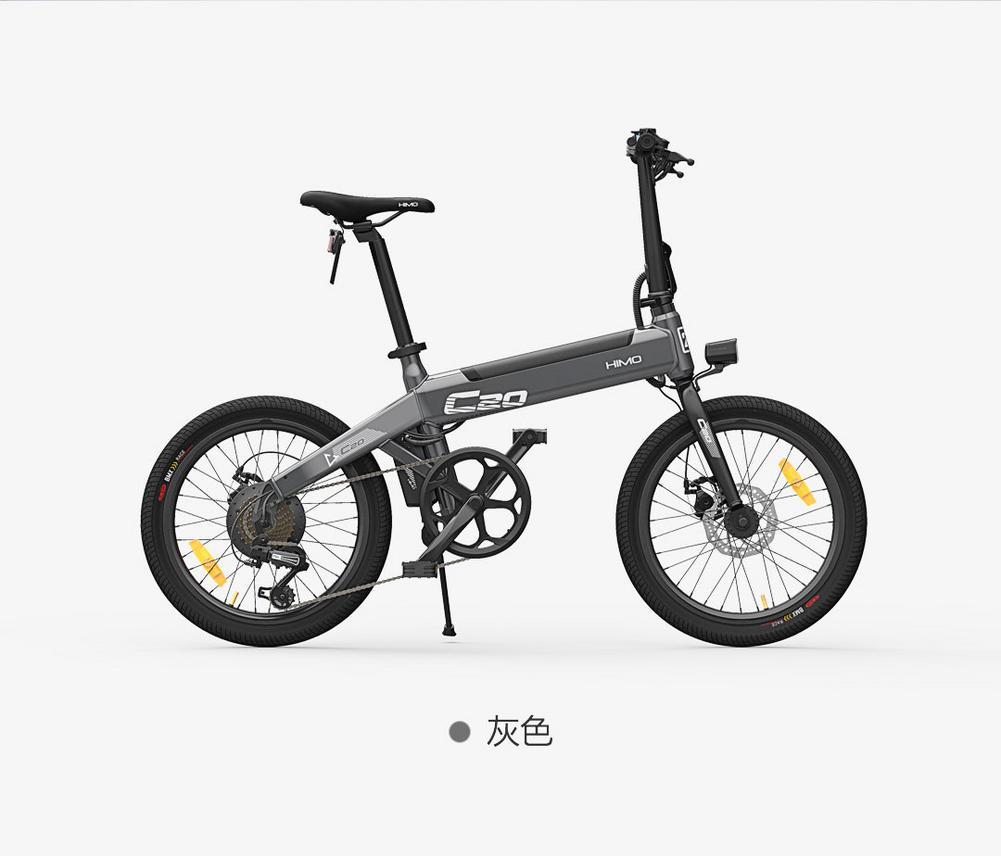 [EU LAGER] NEUE Xiaomi HIMO C20 Elektrische Fahrrad 250W Motor Ebike 25 km/h E Bike 80KM laufleistung Outdoor Elektrische Bike 20 Zoll Reifen