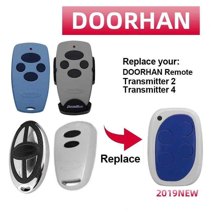 2019 Compatible with Doorhan transmitter 2/4 garage door remote control 433.92mhz  barrier handheld transmitter opener