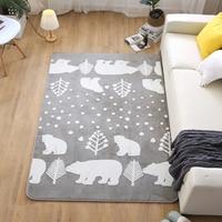 Australian Plush Carpets for Living Room Children Cozy Carpet Faux Fur Bedroom Carpets Kids Room Rug Sofa Coffee Table Tatami Ma