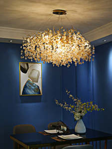 Image 4 - French crystal chandelier romantic golden living room dining room decoration lamp custom hotel project lighting