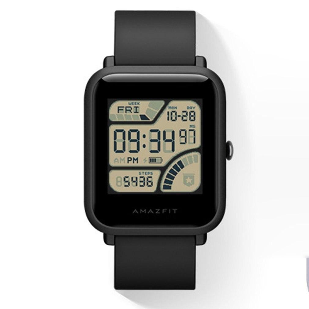 Xiaomi Huami Amazfit Bip montre intelligente GPS Smartwatch Android iOS moniteur de fréquence cardiaque 45 jours d'autonomie IP68 toujours à l'écran