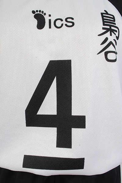 No.5 Akaashi Keiji No.4 Bokuto Koutarou زي كرة طائرة تأثيري Haikyuu Fukurodani أكاديمية جيرسي الكرة الطائرة فريق علوي + شورت