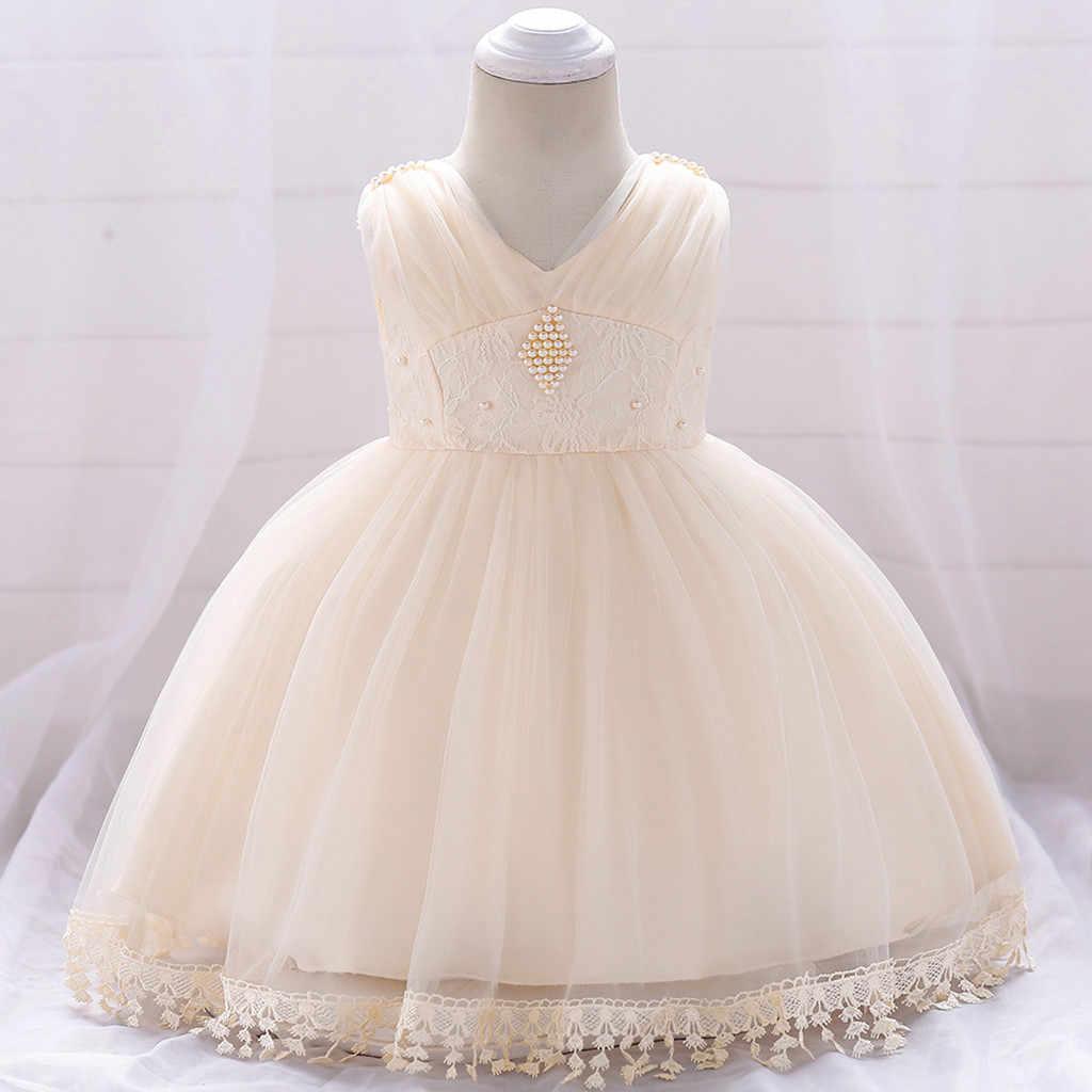 Vestido Para Niña Bebé Niña Princesa Desfile De Damas De Honor Vestido De Fiesta De Cumpleaños Vestido De Boda Para Niñas Vestido De Fiesta Bebés