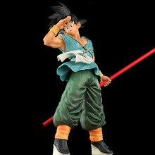 30cm Dragon Ball Super Goku figurka 10. Rocznica pożegnanie kij Goku figurka Model dekoracji prezent