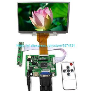 Nieuwe Lcd-scherm 7 inch 1024*600 7300101463 E231732 7300130906 TFT 50Pins Monitor Driver Board 2AV HDMI VGA