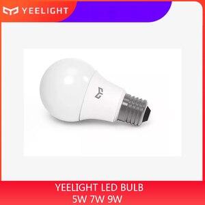 Image 1 - Yeelight Led lampe E27 Kalten Weiß 25000 Stunden Lebensdauer 5W 7W 9W 6500K E27 Lampe Licht lampe 220V für Decke Lampe/Tisch Lampe