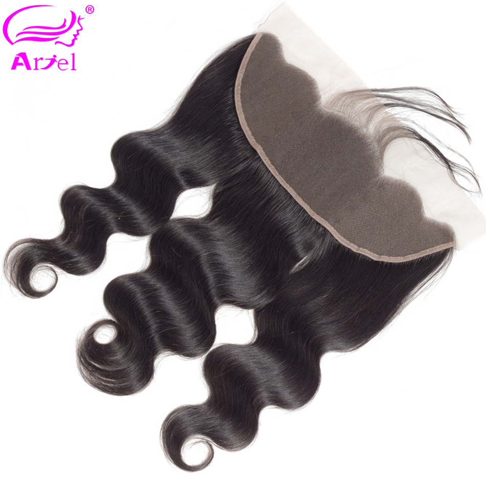 Body Wave Frontal Ear To Ear Lace Frontal Closure 13×4 Brazilian Hair Frontal Remy Transparent Frontal Swiss Lace Frontal Ariel