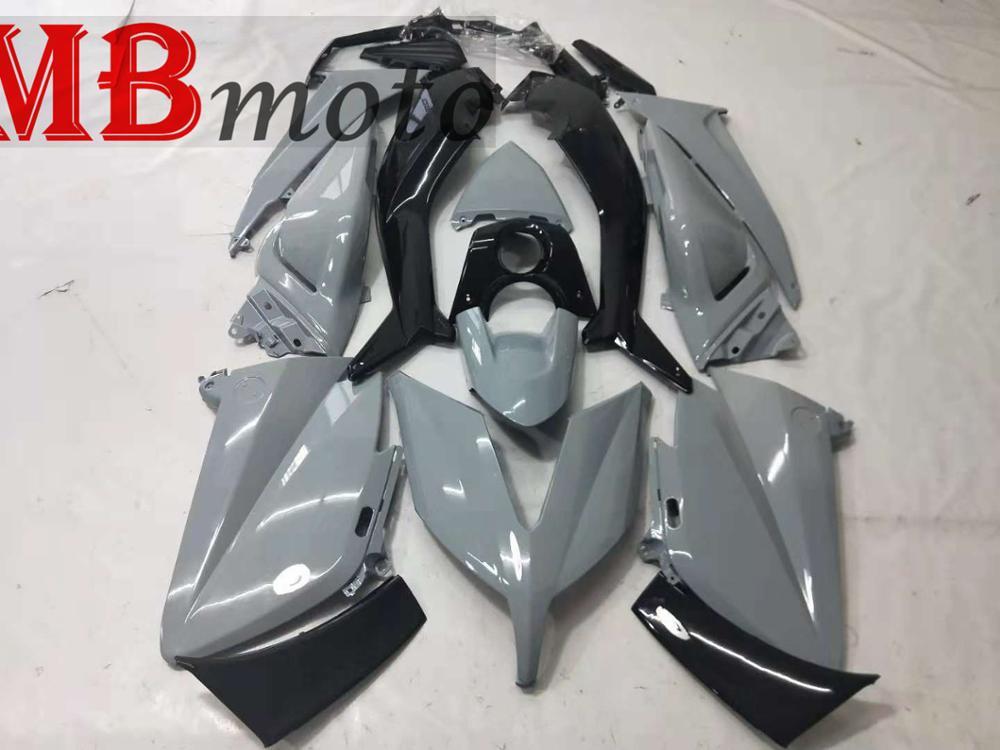 Free Gift Fairings For  Tmax530 Tmax 530 TMAX 2015 2016 Plastic Kit Injection Motorcycle Fairing Kit Good Quailty UV Gray