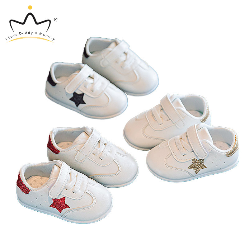 New Baby Shoes Cute Star Toddler Shoes For Boy Girl Soft Cotton Anti Slip Spring Summer Baby Boy Shoes First Walkers
