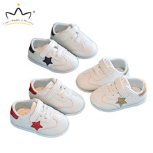 New Baby Shoes Sneakers Cute Star Toddler Shoes for Boy Girl Soft Cotton Anti Slip Spring Summer Baby Boy Shoes First Walkers