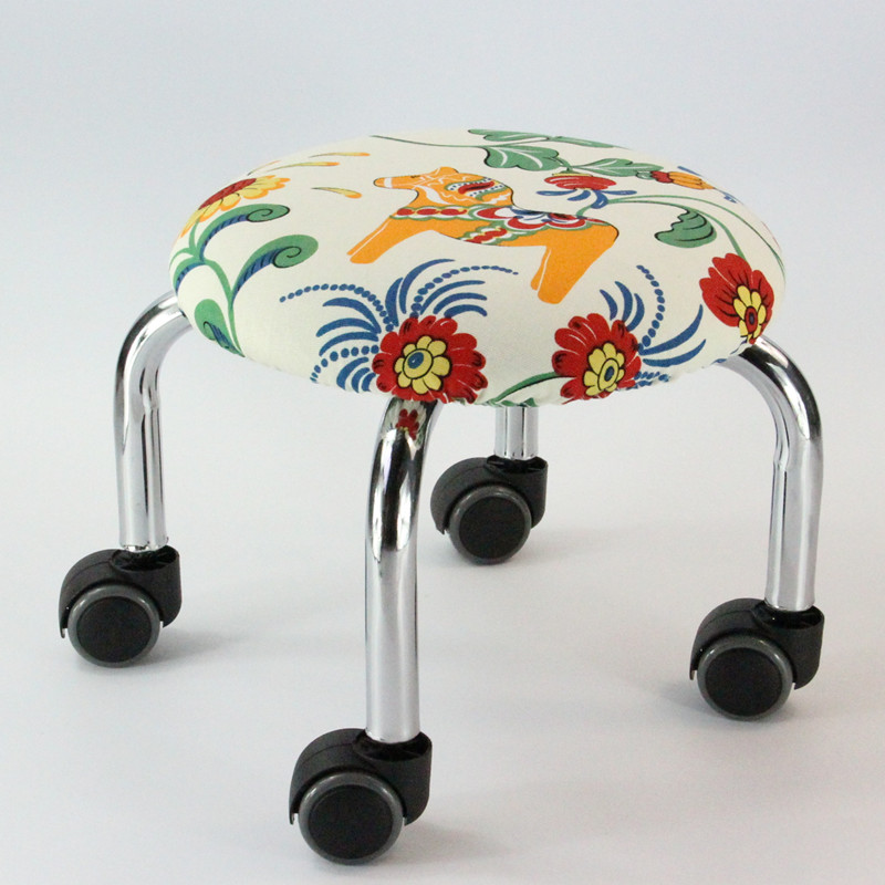 Pulley Stool Round Bench Sofa Stool Low Stool Children Toddler Stool Pulley Stool Leather Stool With Baby Artifact