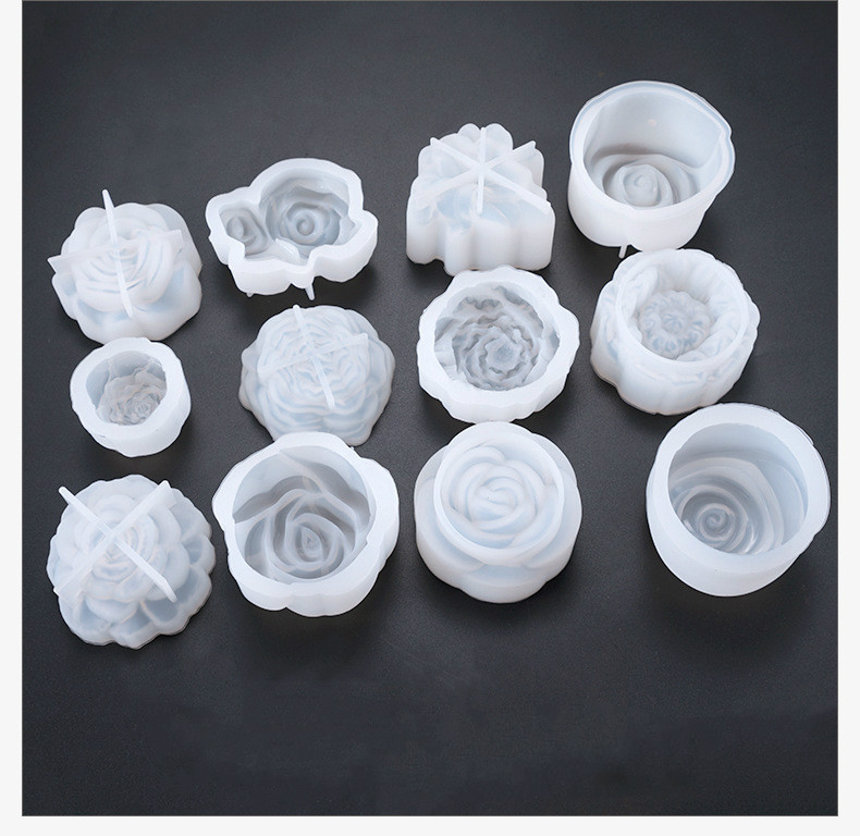 1PC New Flower Shaped Silicone Expoxy Resin Mold Pendant Tools Jewelry Mold Accessories Resinpopular
