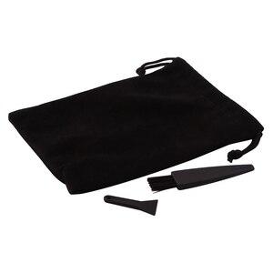Smoking Accessories Plastic Scrapper Brush Blade For Herb Grinder Spice Crusher Grinder Cloth Storage Bag