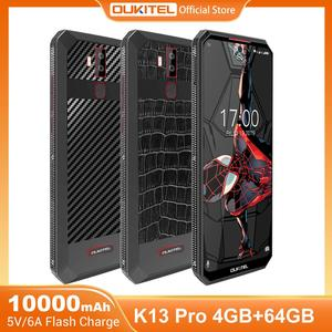 OUKITEL K13 Pro Android 9.0 Mobile Phone 5V/6A 11000mAh Octa Core 6.41