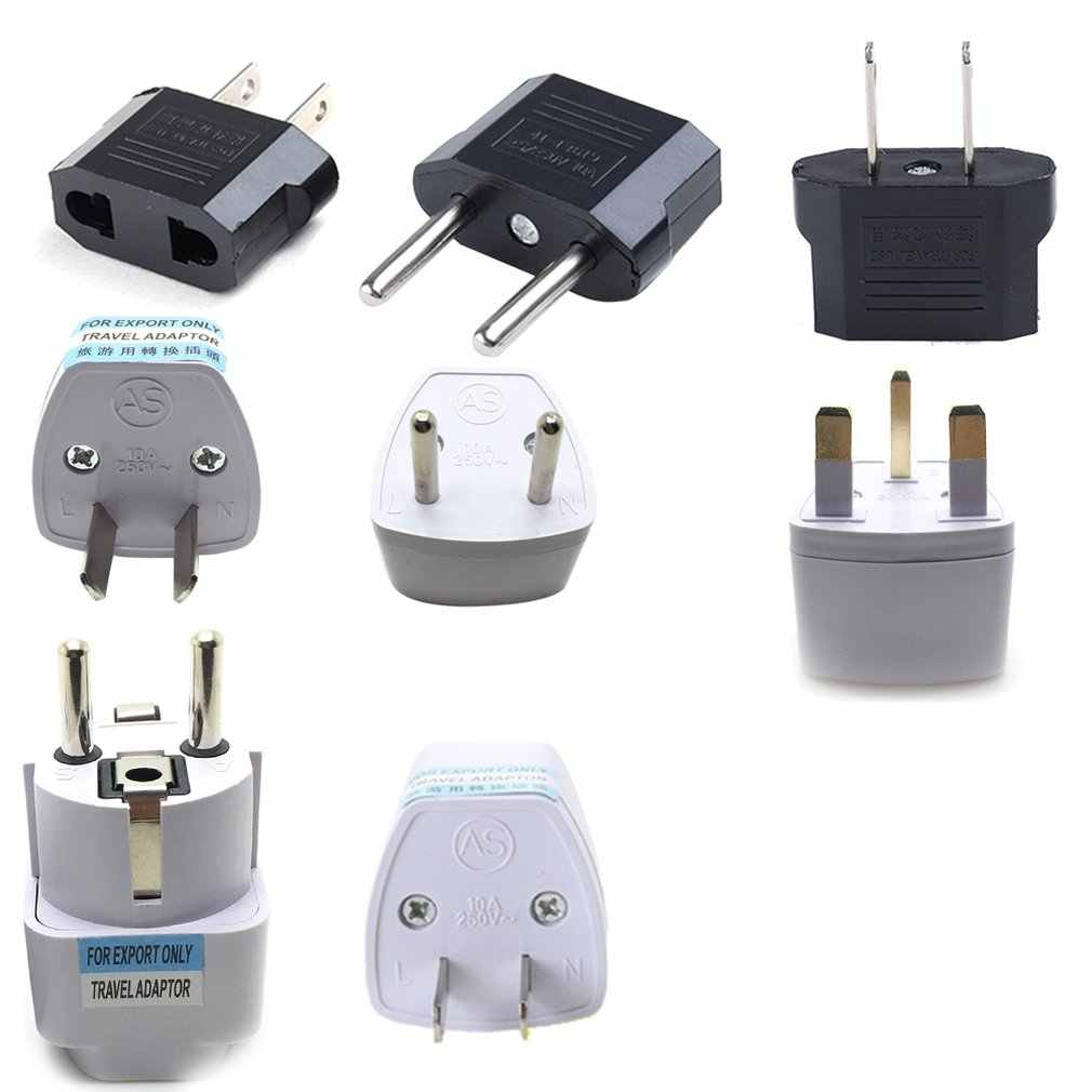 Uk/Us/Eu Smart Home Plug Power Socket Ronde Plug Platte Stekker Stekker Multi-Country Serie conversie Plug Power Plug