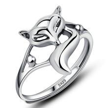 Маленькая лиса кольцо Леди счастливый Личность Открытие natal