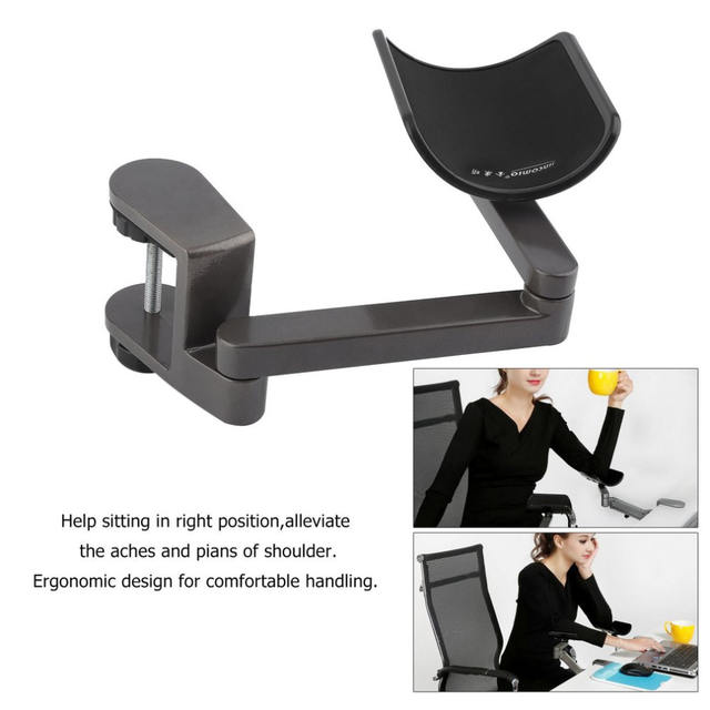 Adjustable Arm Rest Wrist Support Ergonomic  for Office