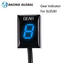 ALCON-For Suzuki Intruder 800 V-Strom GSX-r1000 R600 R750 SV650 1-6 Level LED Speed Gear Display Indicator ECU Plug