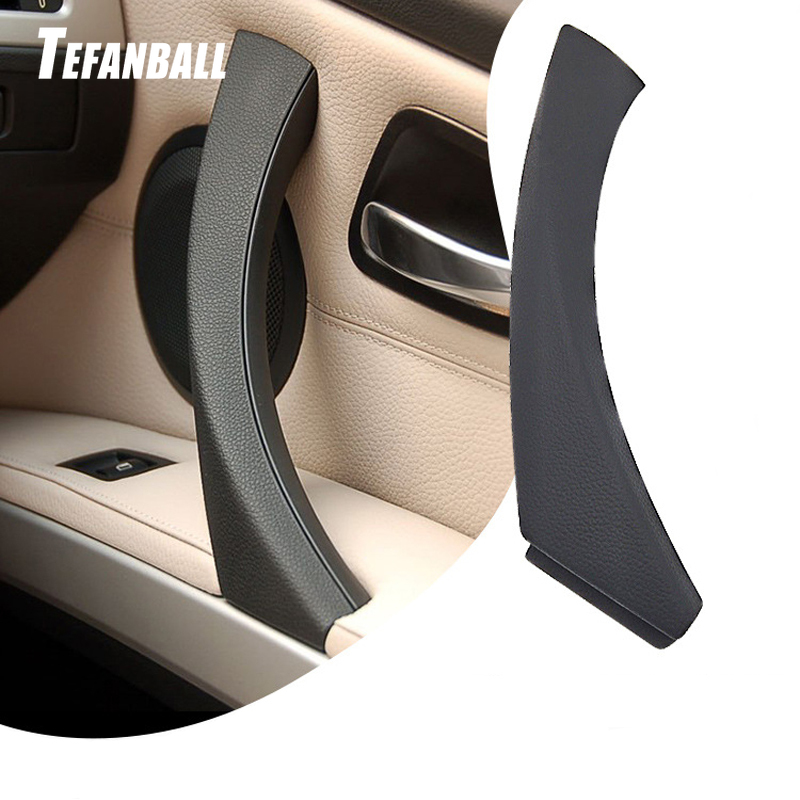 Left/Right Side Car Interior Inner Door Panel Handle Pull Outer Trim Cover for BMW 3-Series E90 E91 Auto Styling Accessories image