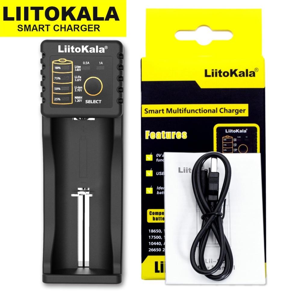 cheapest Liitokala Lii-500 Lii-402 battery charger Lii-202 Lii-100 Lii-400 18650  for 26650 21700 17355 18350 14500 AA AAA Batteries