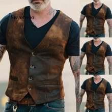 Мужской повседневный жилет Мужская одежда Взрывные модели европейский