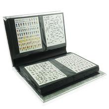 Наклейка для ногтей shou na ce маникюрный магазин только наклейки для ногтей шоу альбом 120 контейнер для хранения карточек