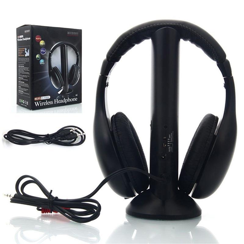 Беспроводные Bluetooth наушники, портативные наушники с микрофоном, радио, FM, для ПК, ТВ, DVD, CD, MP3, 2019|Наушники и гарнитуры|   | АлиЭкспресс