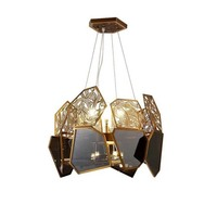 Роскошная люстра в скандинавском стиле акриловая декоративная Подвесная лампа