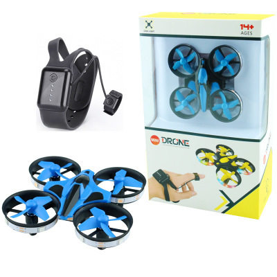 Mini Quadcopter Charging Remote-controlled Unmanned Vehicle Smart Set High A Key Return Tumbling Children Plane Toy