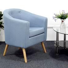 Sofá minimalista de lino de seis botones, silla antideslizante, de fácil limpieza, para sala de estar, Muebles para el hogar, HWC