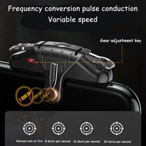 Image 2 - PUBG mobilny kontroler Gamepad Joystick 30 strzałów na sekundę wyzwalacz gier L1R1 przycisk spustu celu dla PUBG gra telefoniczna Pad