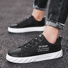 Лидер продаж; мужские кроссовки для скейтборда; нескользящая спортивная обувь; Мужская Удобная прогулочная Обувь На Шнуровке; мужские брендовые кроссовки черного цвета