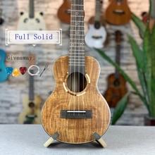 Electric-Guitar Ukulele Acoustic Solid Full 23 Matt 26-In Concert-Tenor All-Acacia