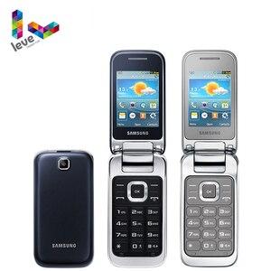 Samsung C3590 GT-C3595 флип разблокированный мобильный телефон 2,4