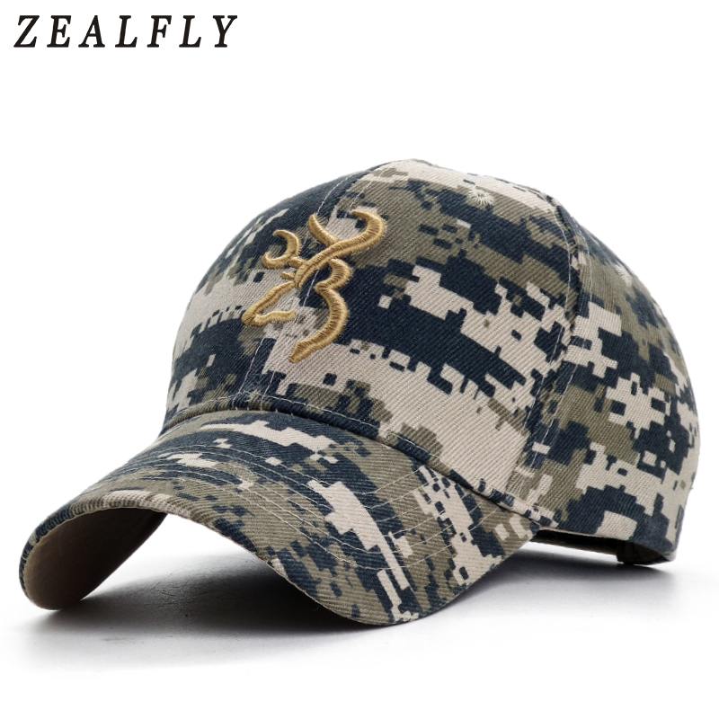 Mens Dad Hat Camouflage Baseball Caps Embroidery Snapback Cap Adjustable Outdoor