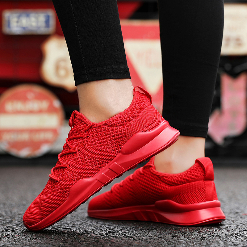2020 Summer Fashion Men Women Casual Shoes White Lace-Up Breathable Shoe Women Sneakers basket tennis Trainers Zapatillas Hombre 5