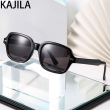 Square Sunglasses Women and Men 2020 New Arrival Brand Designer Transparent Sun