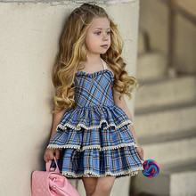 Girls Dresses Spring Princess Dress Baby Clothes dress Kids Jersey for 1-5Y 40