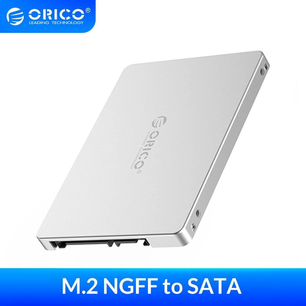 ORICO Case 2 5 inch M 2 NGFF to SATA 3 0 SSD Adapter Convertor for Samsung Seagate SSD 2TB Hard Disk Drive Box 6Gbps Super Speed