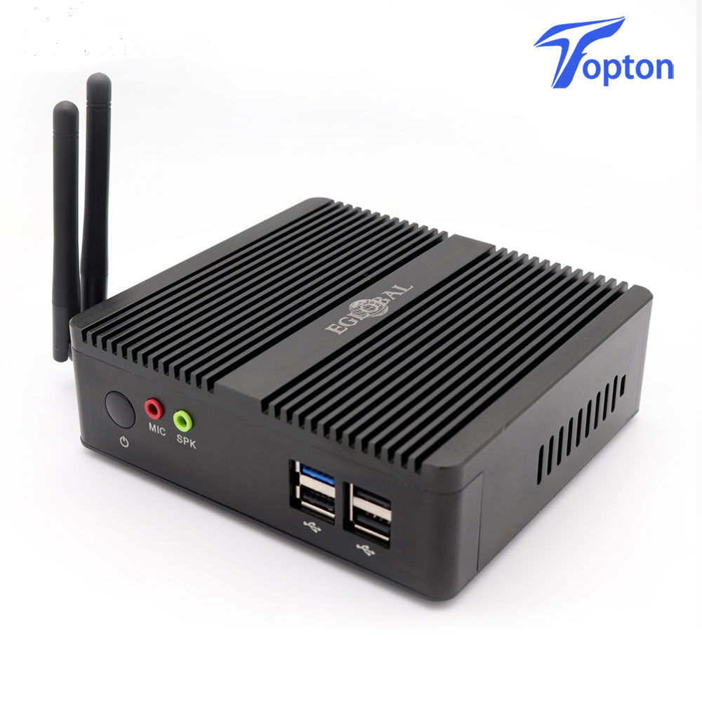 Firewall AES-NI Fanless Mini PC Linux 3160 N3150 J1900 Quad Core 2GHz 2*Lan Pfsense Router Security Computer 1*HDMI WiFi