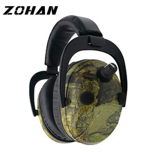 ZOHAN Electronic Earmuff NRR 23DB Tactical Headset For Hunting Electronics Hearing Protection Earmuffs Noise Reduction Ear Plug(China)