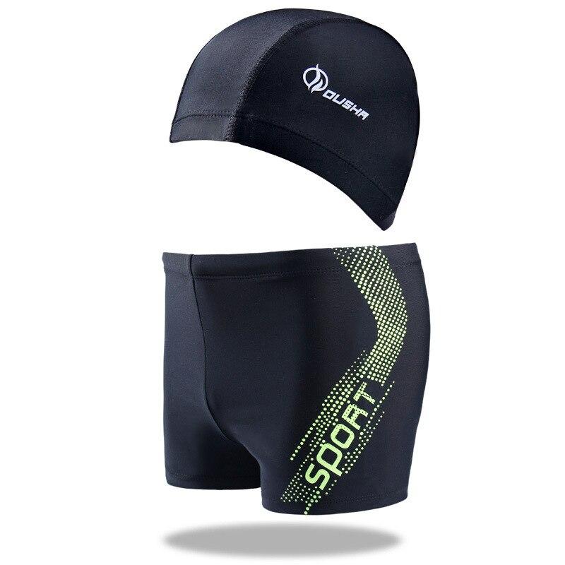 Men's Qi Leg Boxers Swimming Move-Swimming Trunks