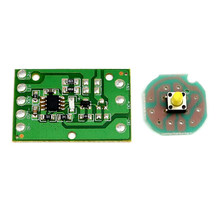Plaque d'entraînement électrique pour phares T6 U2 L2 Q5 2 3T6, Circuit de commande de lampe frontale, 3 ou 5 modes 1 2 ou 3