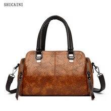 Femmes sacs à main de haute qualité en cuir femme bandoulière sacs à bandoulière décontracté grande capacité Sac de messager fourre-tout Sac a Dos