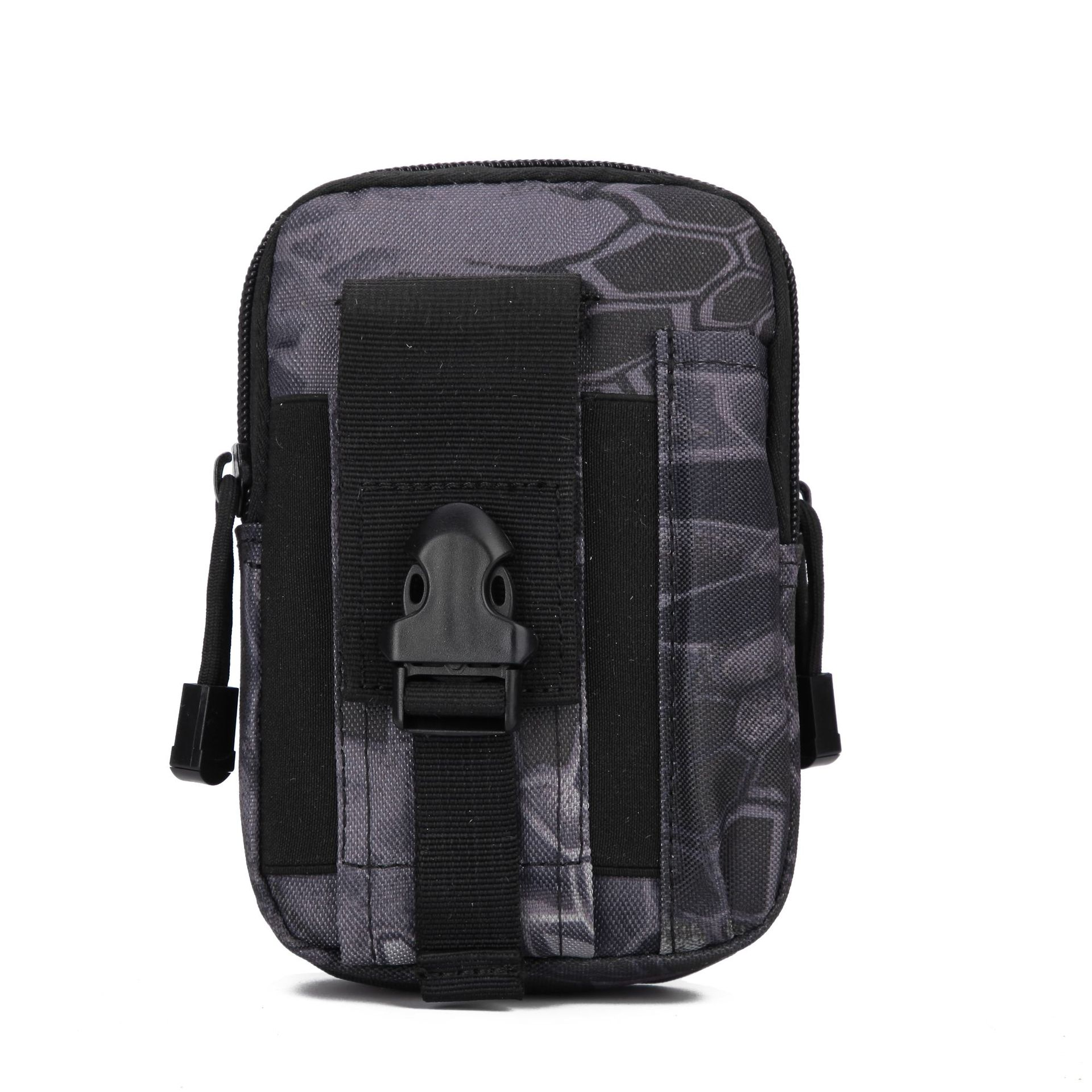 Army Fans Camouflage Tactical Waist Pack Pannier Bag Outdoor Sports Multi-functional Tactical Molle Accessories Camouflage Walle