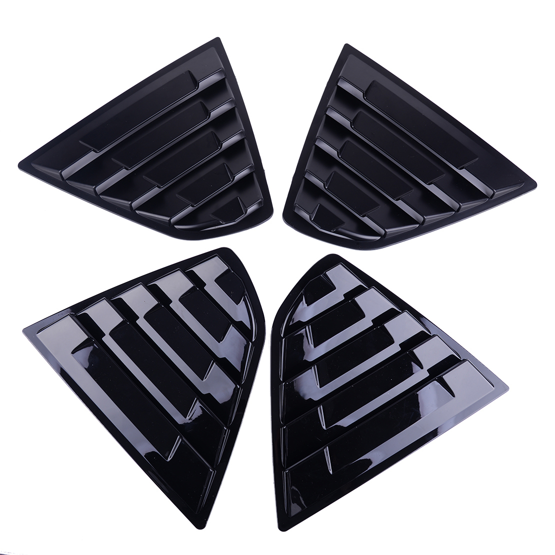 Fit for 2018-2019 Toyota Camry Sedan Rear Side Window Louver Sun Shade Covers