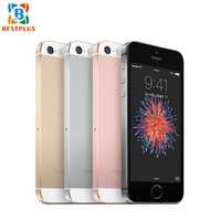 "99% original novo apple iphone se a1662 lte telefone móvel 4.0 ""2 gb ram 16/64 gb rom duplo-núcleo 1642 mah toque id 12.0mp telefone inteligente"